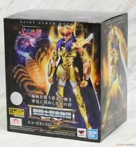 Saint Cloth Myth Ex Scorpio Milo Saintia Miro Sho Colour Edition Bandai Tamashii