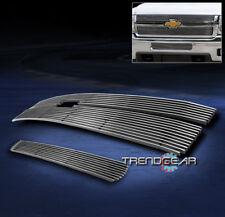 2011-2012 CHEVY SILVERADO 2500/3500 HD UPPER + BUMPER LOWER BILLET GRILLE INSERT