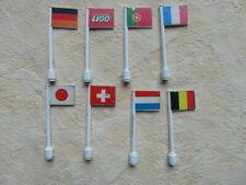 Lego System Fahnen Flaggen Konvolut alt Fahne 50er 60er Vintage