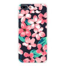 Flower Handpainted TPU Case Cover For iPhone 7 & 7 Plus & iPhone 6