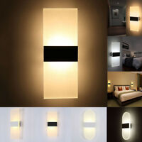 Modern LED Wall Light Up Down Cube Sconce  Aisle Hallway Lighting Lamp Fixture
