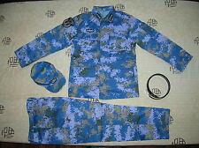 15's China PLA Navy Marines Admiral Digital Camo Combat Clothing,Set,Summer.