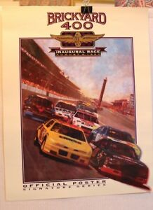 INDY BRICKYARD 400 COLLECTORS POSTER 1994 INAUGURAL RACE NASCAR EARNHARDT