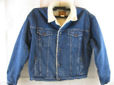 Vintage 1993 Men's XL GAP Denim  Sherpa Lined Jean Jacket/Coat RN54023