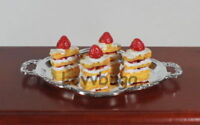 """Realistic Roast Beef Plate for American Girl /& Wellie Wishers 8-18/"""" Doll Food"""