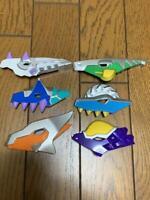 Bandai Power Rangers Dino Thunder Sentai Abaranger Dino Brace Parts Plate Set