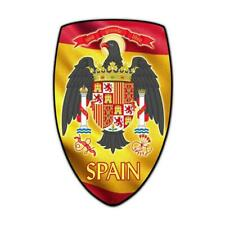 VINTAGE SIGN Spain Shield 15 x 24