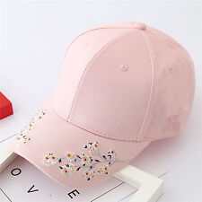 Baseball Cap Ladies Snapback Cap Hat Women Embroidered Cherry blossoms Hat TO