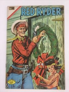 1969 SPANISH COMICS RED RYDER #216 VAQUERO WESTERN NOVARO MEXICO ESPANOL