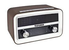 Telefunken R1004B Retro Radio Bluetooth Radiowecker Uhrenradio USB-Ladefunktion