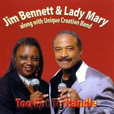 Jim Bennett -Too Hot To Handle - New Factory Sealed CD