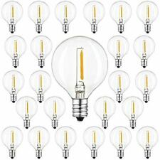 New listing G40 Led Replacement Bulb - Dimmable Clear Glass 1W 2200K E12 Base Truly Warm For