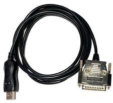 Cnc Dnc Usb To Db 25 Male Ftdi Cable Hardware Flow Control Cnc Hw 25m 50 Ft