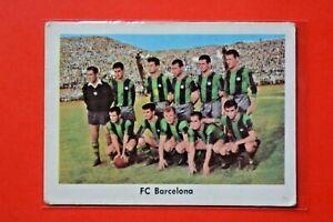 Heinerle Fußball Sammelbild-Die Mannschaft des FC Barcelona-Suarez-Kocsis ungekl