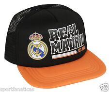 REAL MADRID FC TRUCKER CAP HAT  OFFICIAL AUTHENTIC NEW SEASON CRISTIANO RONALDO
