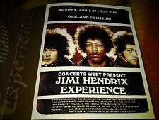 Jimi Hendrix Live in Oakland (2) CD Rare Box Set Dagger Records