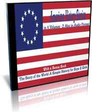 American History Stories 4 Volumes with 2 Volumes in Audio Format Included on CD