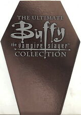 BUFFY THE VAMPIRE SLAYER ULTIMATE COLLECTION COFFIN PROMOTIONAL SELL SALE SHEET