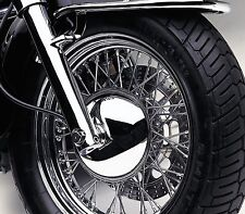 Honda VTX1300 S, R/Retro & T/Tourer - Cobra Chrome Front Wheel Hub Cover