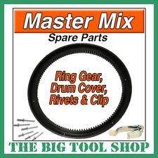 MASTERMIX MIXER RING GEAR,MC130 C/W FIXING RIVETS+CLIP MASTER MIX MC130