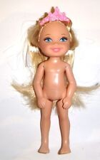Kelly and Friends/Barbie Nude Doll Long Blonde 4 1/2 Inch Kelly Doll ky10