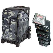 Zuca Anaconda Sport Insert Bag + Black Frame (plain wheels) + Packing Pouch Set