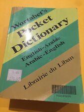 Vintage Wortabet's Pocket Dictionary: English To Arabic, Arabic To English 2000