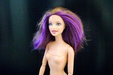 Teresa BARBIE Doll FASHIONISTA SWAPPIN' STYLE Brunette, Purple Hair Articulated