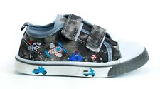 Boys BABY Toddler canvas shoes trainers size 7UK NEW BOY FIRST SHOES