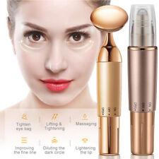 Ultrasonic Eye Roller Face Massager Anti-Ageing Wrinkle Lifting Skin Care Tool