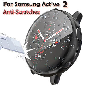 Full Screen Protector TPU Cover Case For Samsung Galaxy Watch Active 2 40/44mm