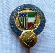 ITALIAN AMERICAN SOCCER LEAGUE OF NEW JERSEY 1960 pin rare