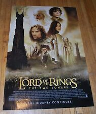 "The Lord Of The Rings: The Two Towers One Sheet 27""x40"" Single Sided Rolled"