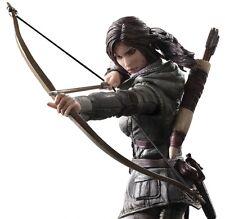 Flawed Box Rise of the Tomb Raider Lara Croft Play Arts Kai Action Figure