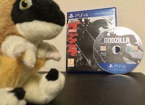rare PAL GODZILLA 2015 on PS4 PLAYSTATION 4 5 PS5 King of the Monsters vs Kaiju