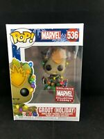 Marvel Groot Holiday Marvel Collector Corps Exclusive Vinyl Funko Pop