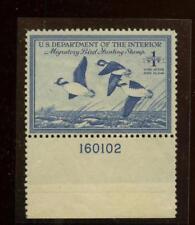 US Duck stamp Sc. RW15,  MNH plate single