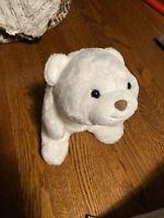 "Vtg Gund 13"" Plush Snuffles White Cream Polar Bear Stuffed Animal"