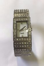 Dolce & Gabbana DW0328 Scotland Silver Dial Crystal Ladies Watch