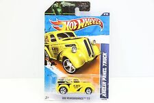 Mooneyes Yellow Anglia Panel Truck 1:64 #138 / 244 Diecast Hot Wheels Moon Eyes