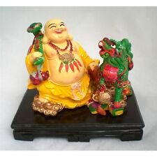 Statuette figurine chinoise, bouddha Richesse