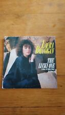45T vintage - laura branigan - the lucky one - breaking out