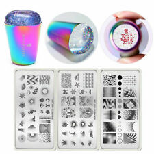 BORN PRETTY Nail Stamping Plates Artist Images with Holo Stamper Kit