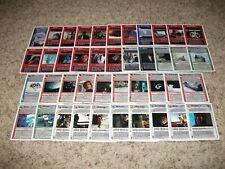 Star Wars CCG Five Rare Cards Lot from Assorted Rares: Hoth Revised WB