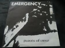 """Emergency Points Of View 7"""" Riot City RARE PUNK 5$ SHIPPING"""