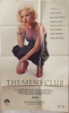 The Men's Club 1986 VHS Movie Poster 23x37 Folded Drama