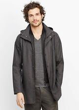 Vince Men's Melange Twill 3-in-1 Jacket & Vest - $645 MSRP - Size Medium - HOT!