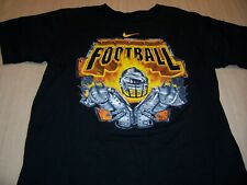 NIKE SERIOUS HEADBANGING BLACK FOOTBALL T-SHIRT BOYS MEDIUM 10-12 EXCELLENT
