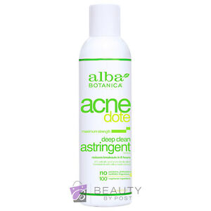 Alba Botanica Acne Dote Deep Clean Astringent maximum strength 177ml