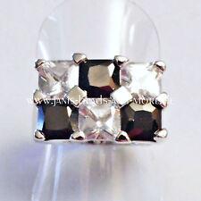 Echte Edelstein-Ringe im Band-Stil mit Onyx für Damen